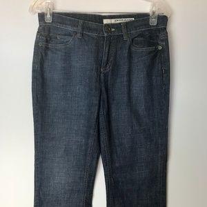 DKNY Soho Jeans Pants Size 4 Petite Blue Denim